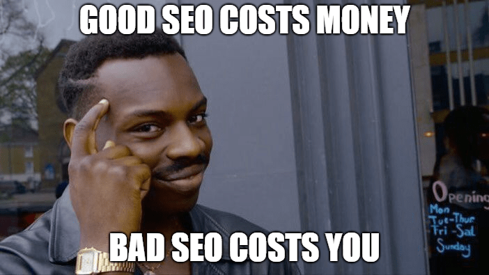 seo cost money